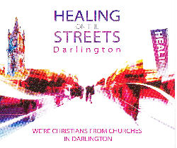 Graphic: Healing on the Streets leaflet